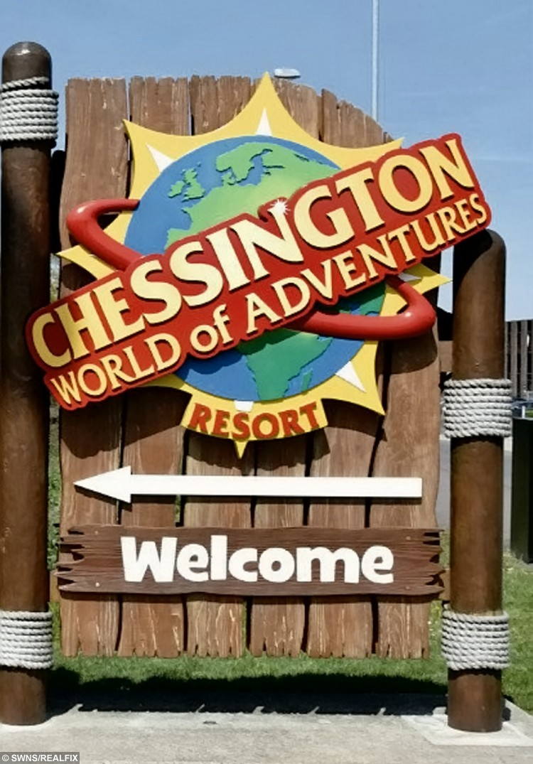 Chessington World of Adventures, Surrey.