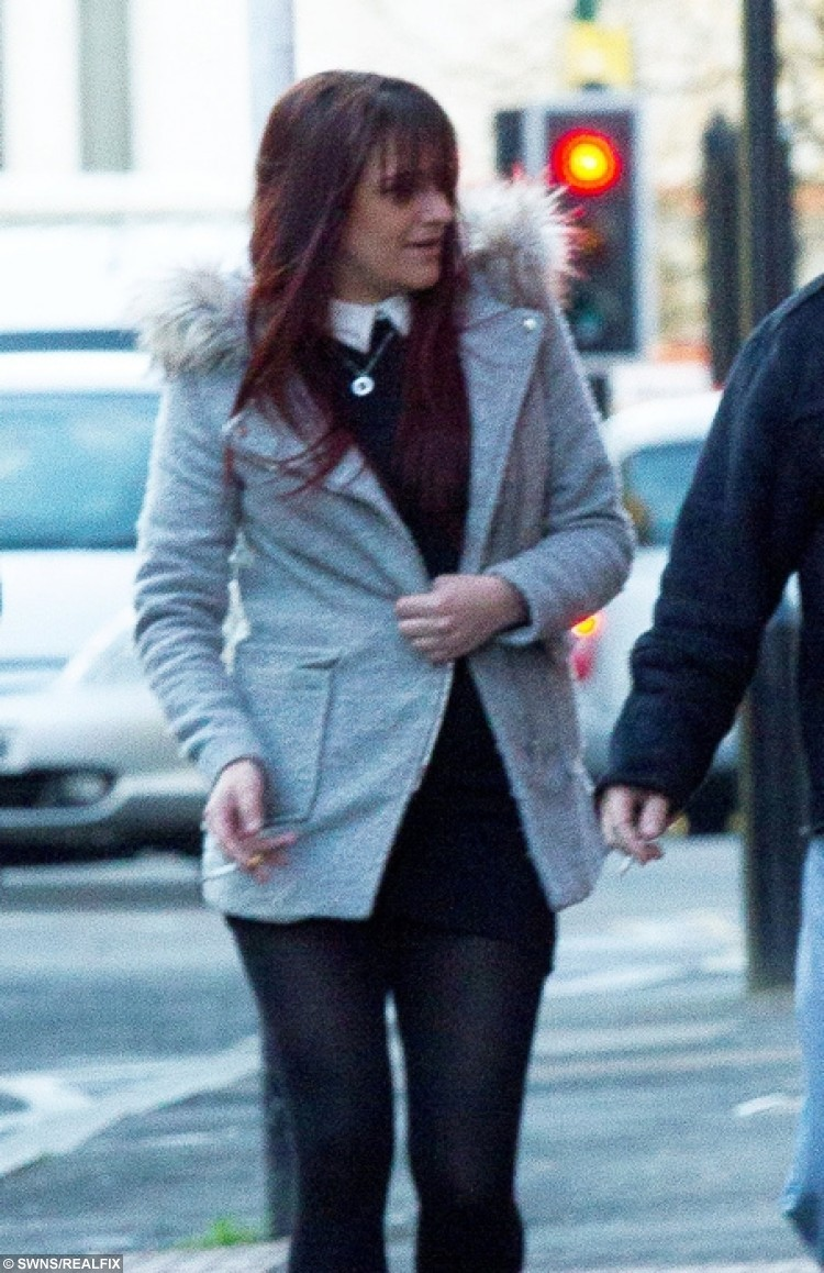 Danielle Parsons, appearing at Birmingham Magistrates Court