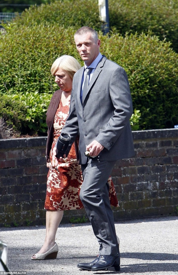 Anthony Smith pictured arriving at Sevenoaks Magistrates Court.