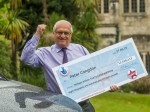 Kind hearted lottery winner makes a £1M donation to an MS clinic after his wife died from the disease.