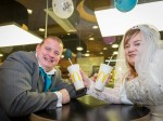 Couple prove marriage is for burger or for worse by getting married in THIS fast-food chain