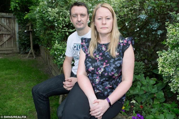 Sarah and husband Chris