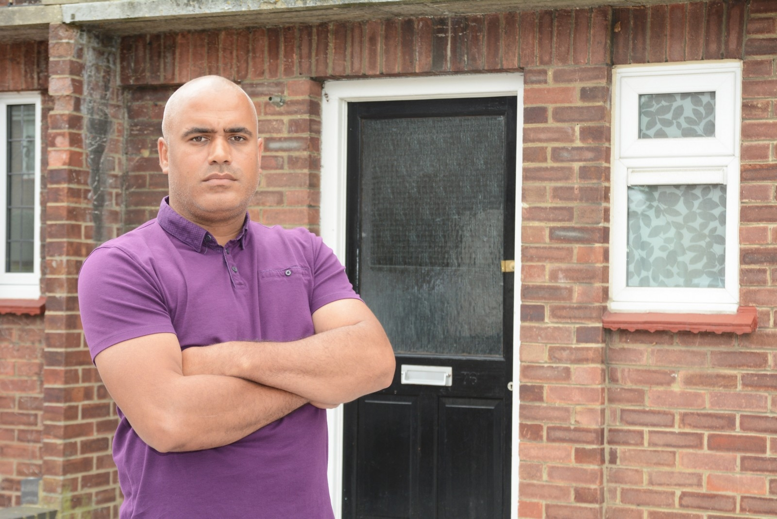 Delivery driver dad nearly lost his PENIS after a dog sunk it's TEETH into it