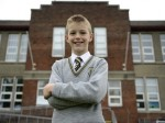 Britain's most punctual schoolboy has never missed a minute