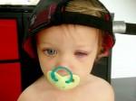 Mum's horror as baby daughter is burned by washing machine capsule