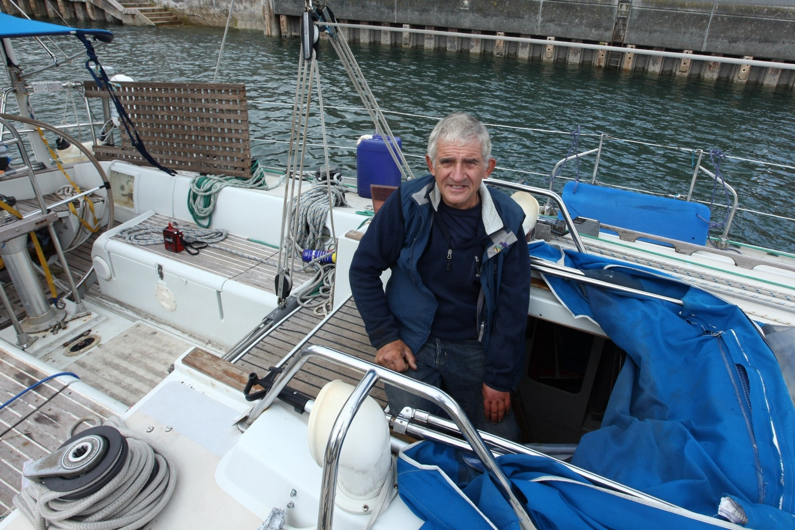 Brave Keith claims to be the first disabled person to complete a trip across the Atlantic without any help or support