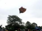 Terror at village fair as TORNADO throws bouncy castle into the air