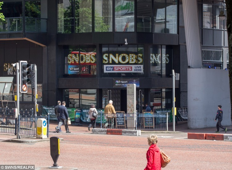 Snobs nightclub, Birmingham.