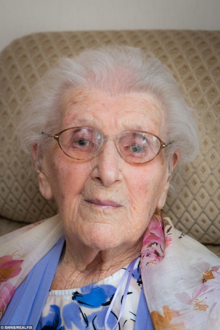 -- has been allowed to stay in her care home for her 106th birthday.