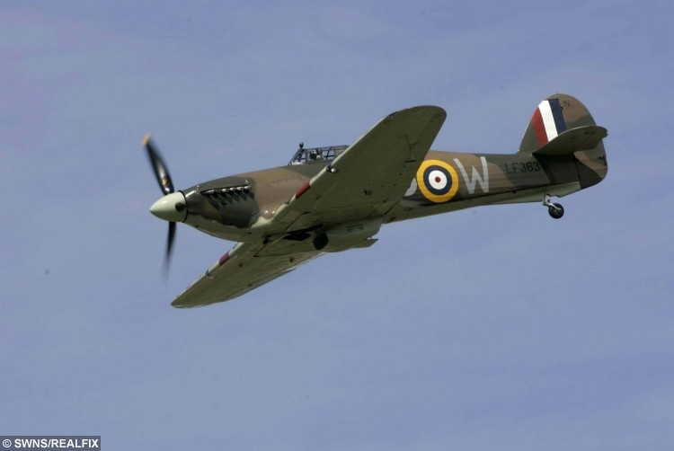 The Spitfire Ken Farlow  wished to see one last time