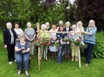 WI members turn old underwear into hanging baskets