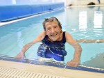 Woman goes swimming again for first time in 30 years – at age 100