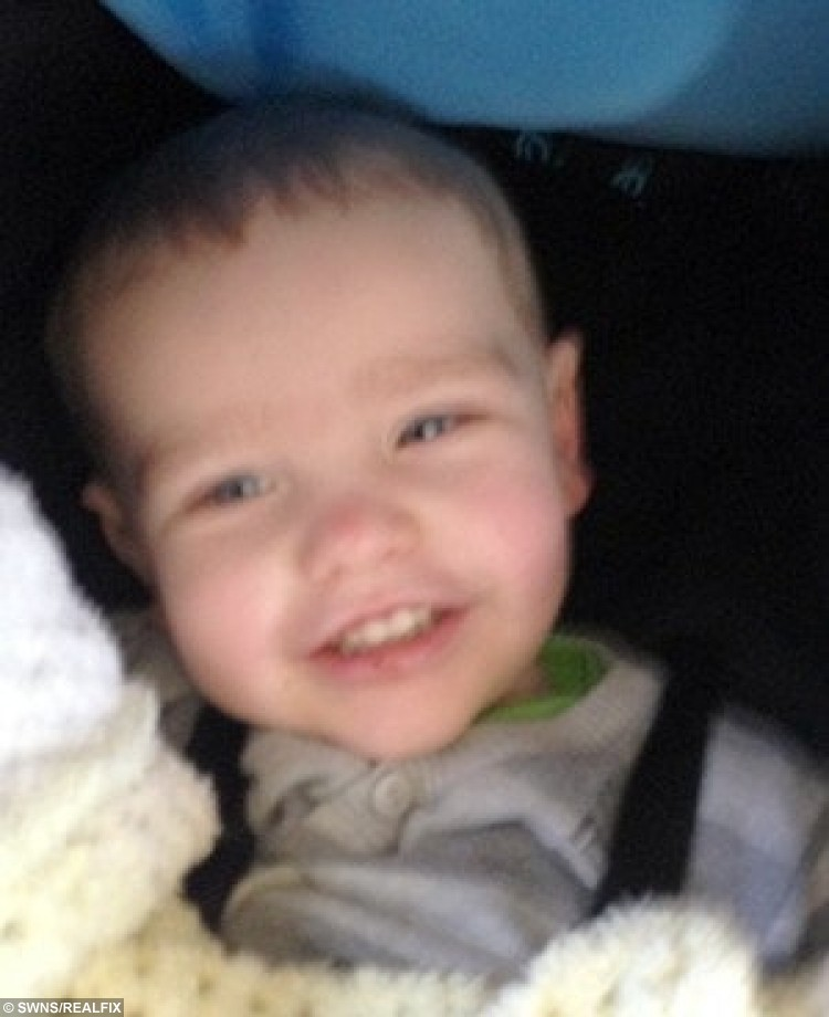 FILE PICTURE - Collect of Liam Fee who was found dead in a property in Thornton, Fife in March 2014. Liam was found by emergency services after a neighbour heard a woman's screams coming from the flat. Nyomi Fee and Rachel Fee, mother of Liam Fee, have been sentenced at Edinburgh High Court for the toddler's murder in March 2014. A mother and her civil partner have been sentenced to life in prison for the murder of her two-year-old son. Rachel Fee, 31, must spend a minimum of 23 and a half years in jail and Nyomi Fee, 29, a minimum of 24 years for the murder and ill-treatment of Liam Fee. The toddler, who was Rachel Fee's son, died at his home near Glenrothes, Fife in March 2014. He had suffered a ruptured heart as a result of severe blunt force trauma to his body.