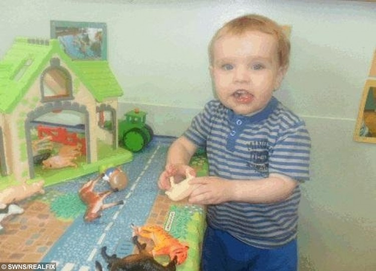FILE PICTURE - Crown Office production of Liam Fee at nursery. Liam Fee who was found dead in the property in Thornton, Fife in March 2014. Liam was found by emergency services after a neighbour heard a woman's screams coming from the flat. Nyomi Fee and Rachel Fee, mother of Liam Fee, have been sentenced at Edinburgh High Court for the toddler's murder in March 2014. A mother and her civil partner have been sentenced to life in prison for the murder of her two-year-old son. Rachel Fee, 31, must spend a minimum of 23 and a half years in jail and Nyomi Fee, 29, a minimum of 24 years for the murder and ill-treatment of Liam Fee. The toddler, who was Rachel Fee's son, died at his home near Glenrothes, Fife in March 2014. He had suffered a ruptured heart as a result of severe blunt force trauma to his body.