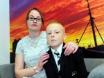 Mum slams her son's school after they put him in isolation over his haircut
