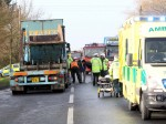 Teacher tells of miracle escape after car horrifically crushed between two lorries