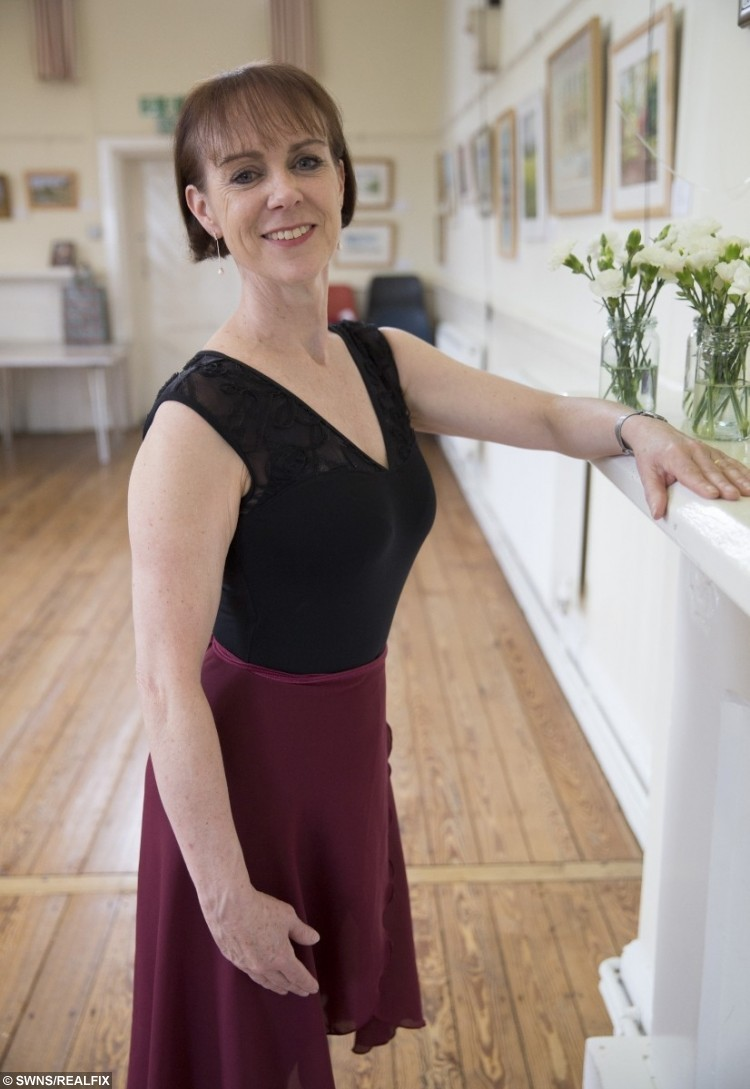 Former dancer Claire Tracey