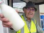 Britain's oldest milkman still delivering to over 300 homes at the age of 88