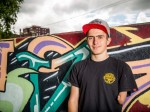 Teenage BMX rider learns how to perform jaw-dropping stunts – despite having only one arm