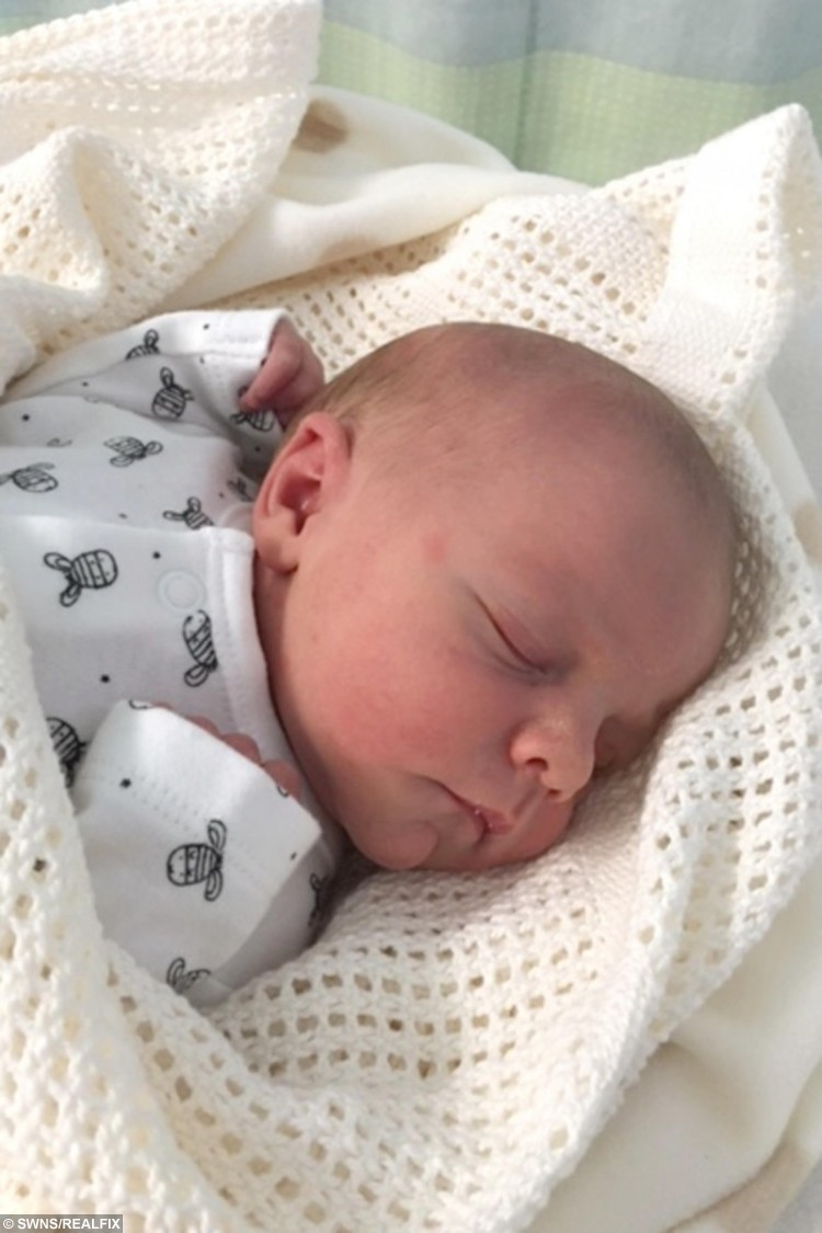 Baby Noel Patrick Maltby-Russell