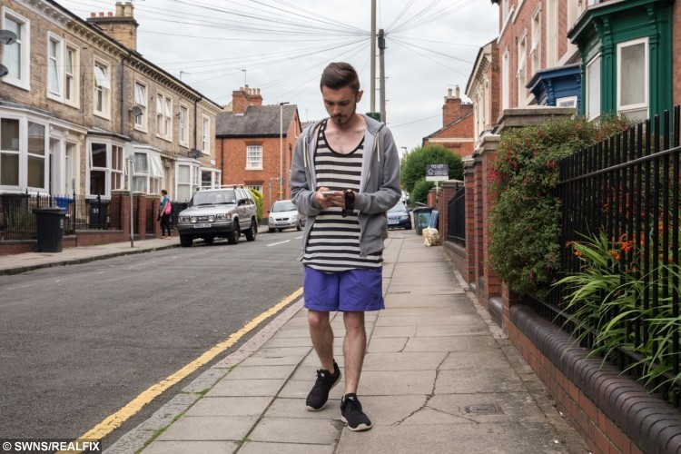 Jack Kilbourn, 22, from Leicester
