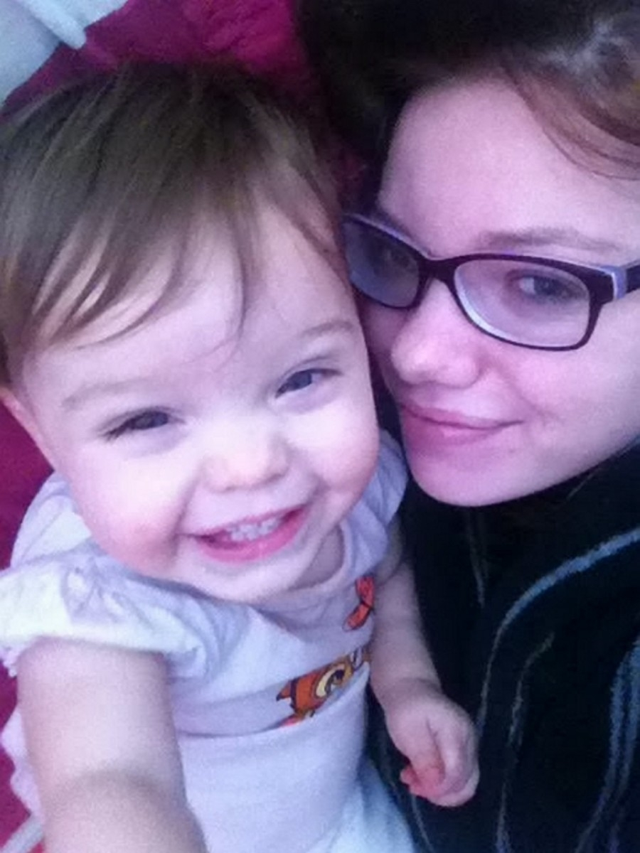 Bethany Hazell with her daughter Teagan-Hope Hazell