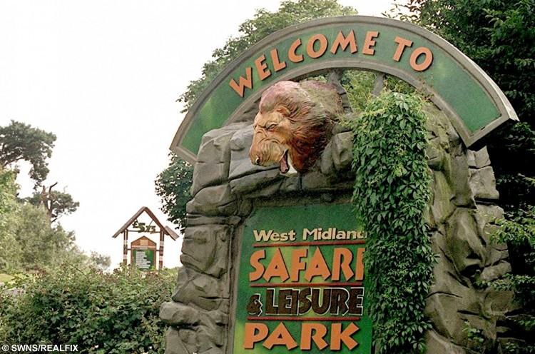 West Midlands Safari Park near Bewdley, West Midlands