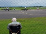 Dying former WW2 veteran reunited with spitfires after staff see him looking through fence