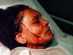 Widowed shopkeeper brutally attacked in the same spot her husband was stabbed seven years ago