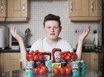 Schoolboy with an addiction to tomatoes HYPNOTISED to finally eat a different meal
