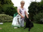 Owner of 17-year-old dog says being vegan is her secret