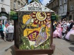 Town decorate a well using 1000 plucked petals as part of a 700-year-old tradition