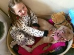 Heartwarming moment autistic girl is reunited with dog incorrectly seized by police
