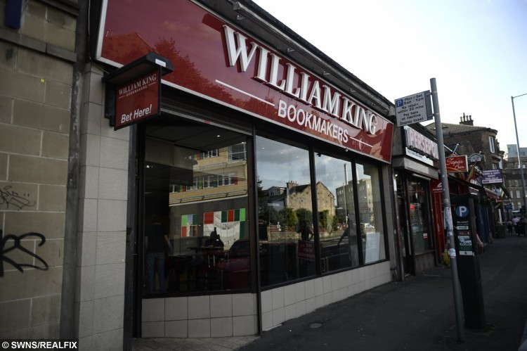 The William King where Mary Buchan used an iron bar that she used to fend off a thief at the bookmakers in Glasgow, Scotland.