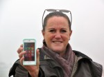 Woman gets Iphone back fully working after a month in the sea