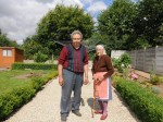 Frail 91-year-old says she considers taking own life because of neighbour's overgrown brambles