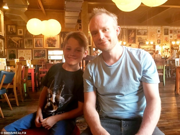 Matthew Pietrzyk pictured with his donor Edward Batch