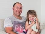 Father tells of horror after he is pulled under runaway van with daughter
