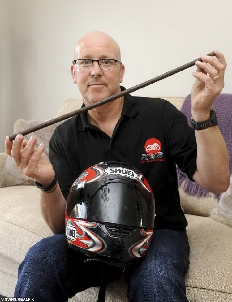 Paul Bradshaw, 55 who was impaled with a metal spike through his head.