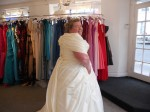 Bride weighing 24st sheds more pounds than what her husband weighs – after being horrified by their wedding photos