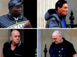 Four 'monster' paedophiles jailed for 63 years after five decades of abuse