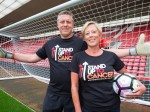 Former Arsenal goalkeeper uses his hands for another save – after spotting wife's cancerous lump on her breast