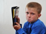 Mum of seven-year-old fuming after tablet explodes in his hands