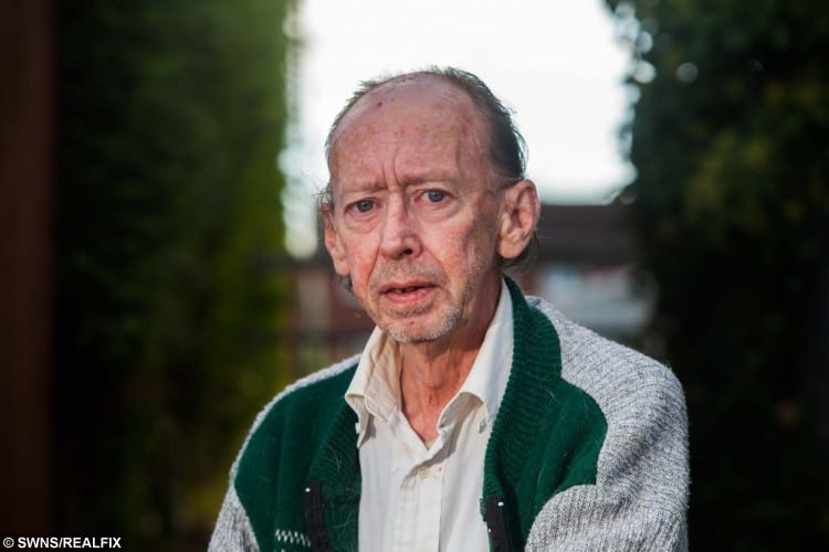 Harold Gillespie from Tiverton, Devon, attended his brother's inquest which was held at the Devon County Hall.