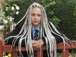 Dad fuming after teen was sent home from school for having £140 bright white DREADLOCKS