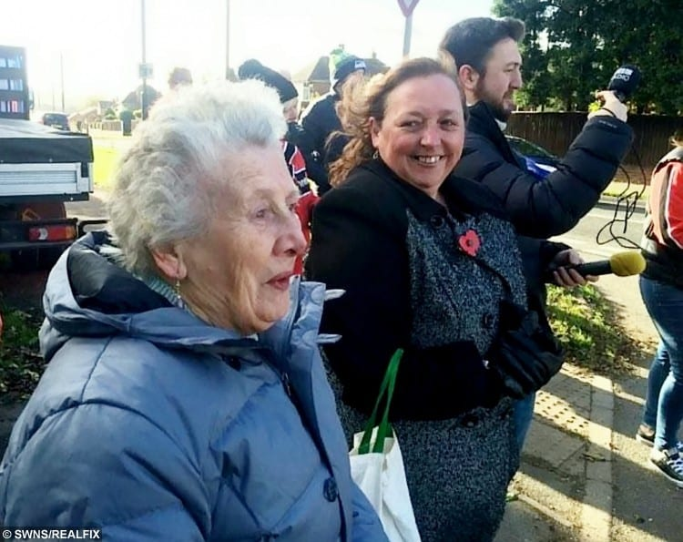 A daredevil great-gran fulfilled her life-long wish to ride on a Harley Davidson - on her 80th birthday