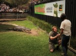 Zookeeper Proposes To His Girlfriend As Aggressive 15-FT LONG Croc Lurks Behind Them