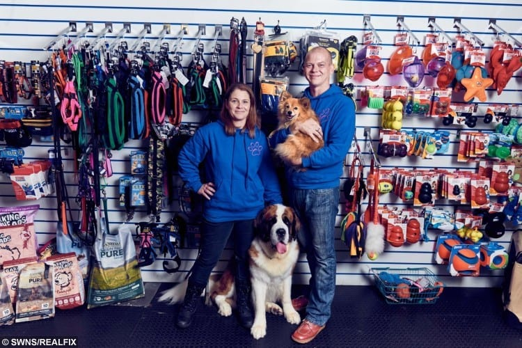 Husband and wife duo, Genevieve and John Parsons are owners of The Sudbury Dog Company, Suffolk