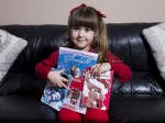 Brave Five-Year-Old Who Could Die If She Gets Sad Has Been Inundated With Christmas Cards