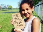 11-Year-Old Girl Inspired To Write Poem Encouraging Tolerance While Undergoing Treatment